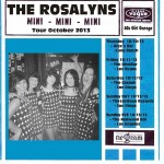 Excited to play with The Rosalyns!