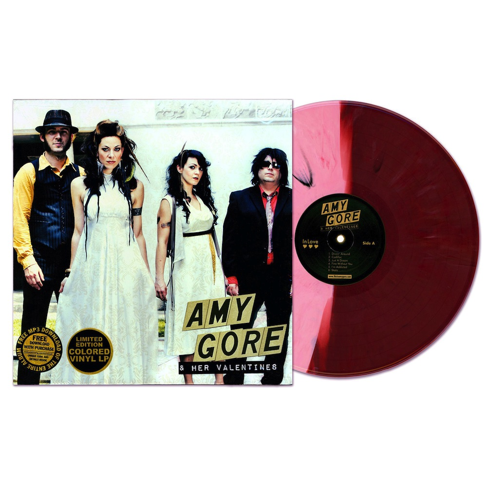 """In Love"" available on Limited Edition Colored Vinyl thru Bloodshot Records!"