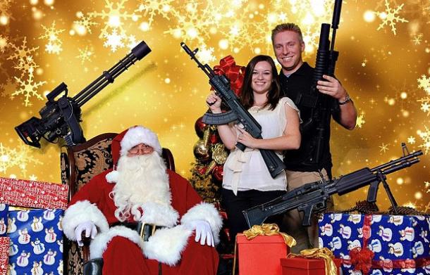 Guns N Santa