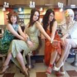 Our beautiful diner ladies.
